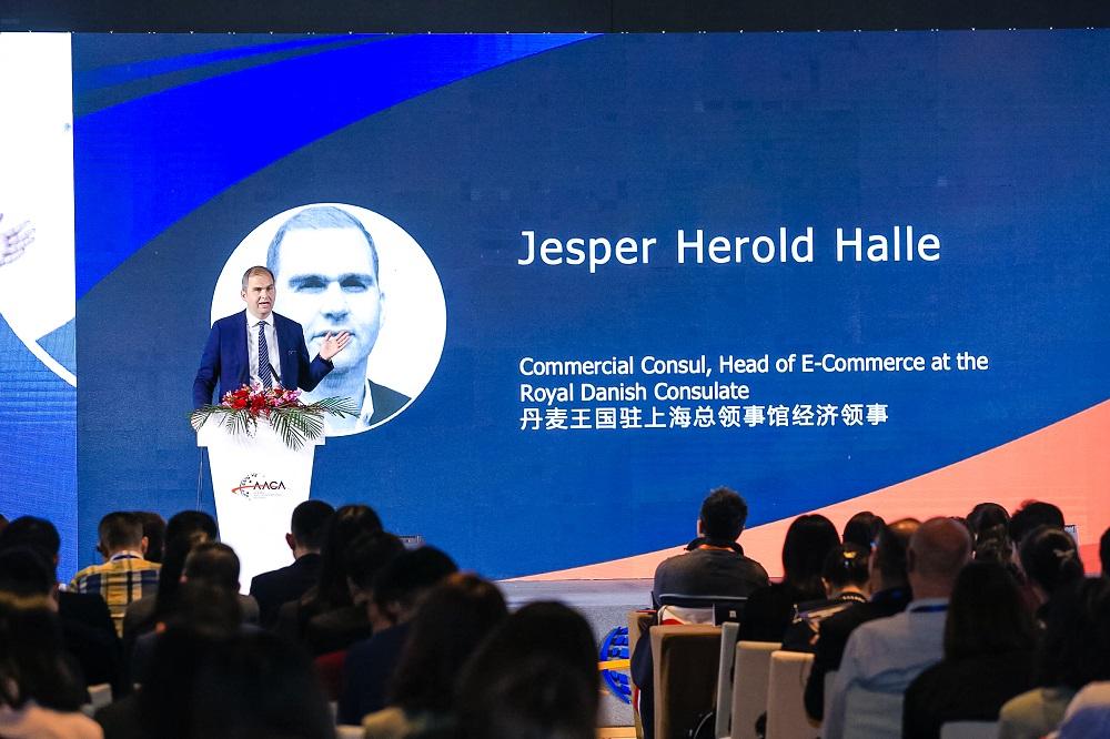 丹麥駐上海總領事館經濟領事Jesper Herold Halle讚賞阿里巴巴集團在只是品牌保護方面的主動出擊和決心。