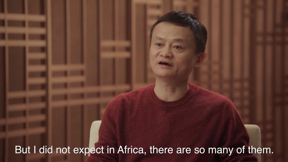 馬雲表示,如果今天生在非洲,他就會在未來20年再走一趟創業路,現在他希望可以支持非洲創業家開始他們的旅程。