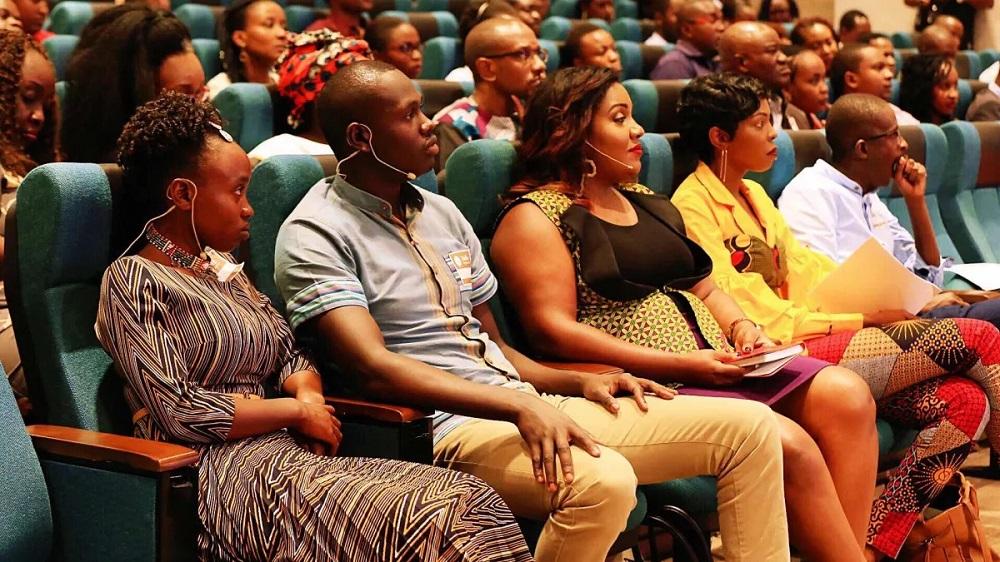 肯亞奈洛比的創業家們全神貫注參與活動。