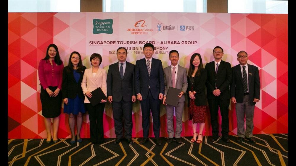 新加坡旅遊局與阿里巴巴簽署合作備忘錄,未來3年,雙方將展開多方面的聯合營銷與內容互動,提升中國遊客的新加坡旅行與消費體驗。