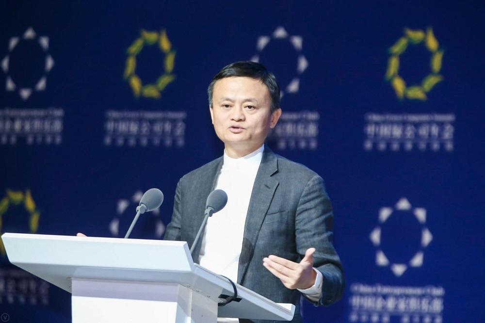 阿里巴巴集團董事局主席馬雲在甘肅敦煌舉辦的2019中國綠公司年會,他指沙漠裡的梭梭樹有堅強生命力,有拼搏精神,這就是今天的企業家精神。