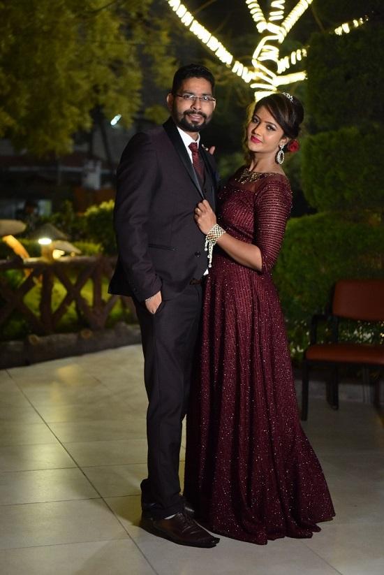 阿里巴巴印度小二Siddharth與太太的婚禮。