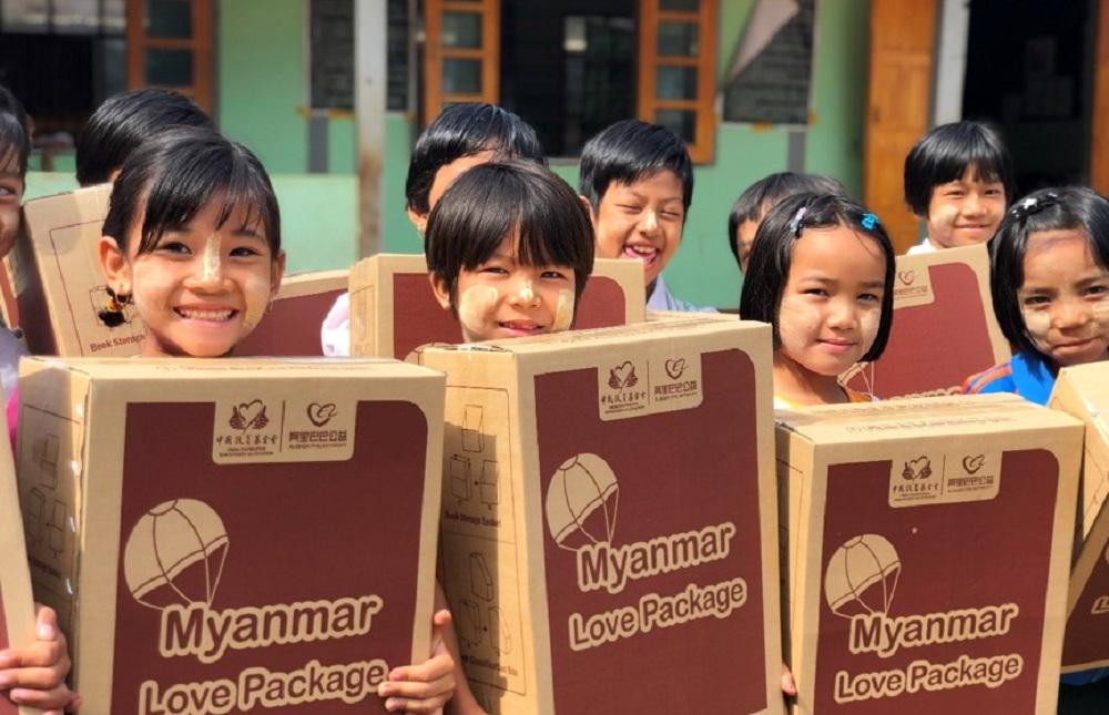 阿里巴巴「國際愛心包裹」送達亞洲10多個國家。