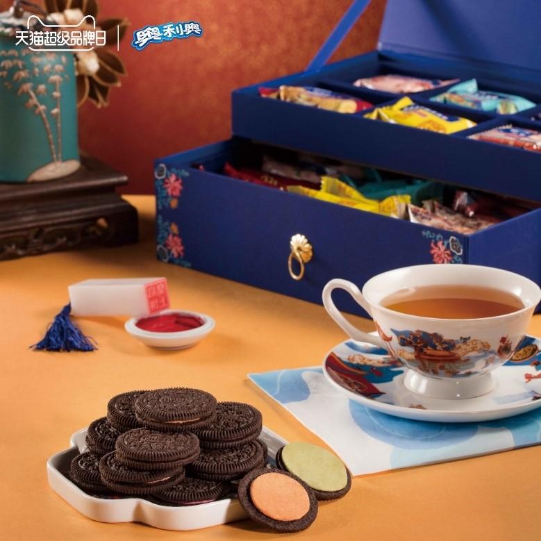 OREO和故宮食品「朕的心意」合作的「中華六味」禮盒。