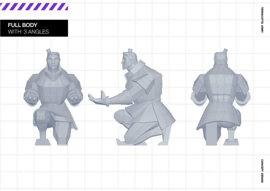 兵馬俑化身成「王的士兵」系列桌面小物,你猜「他」是負責做甚麼的呢?