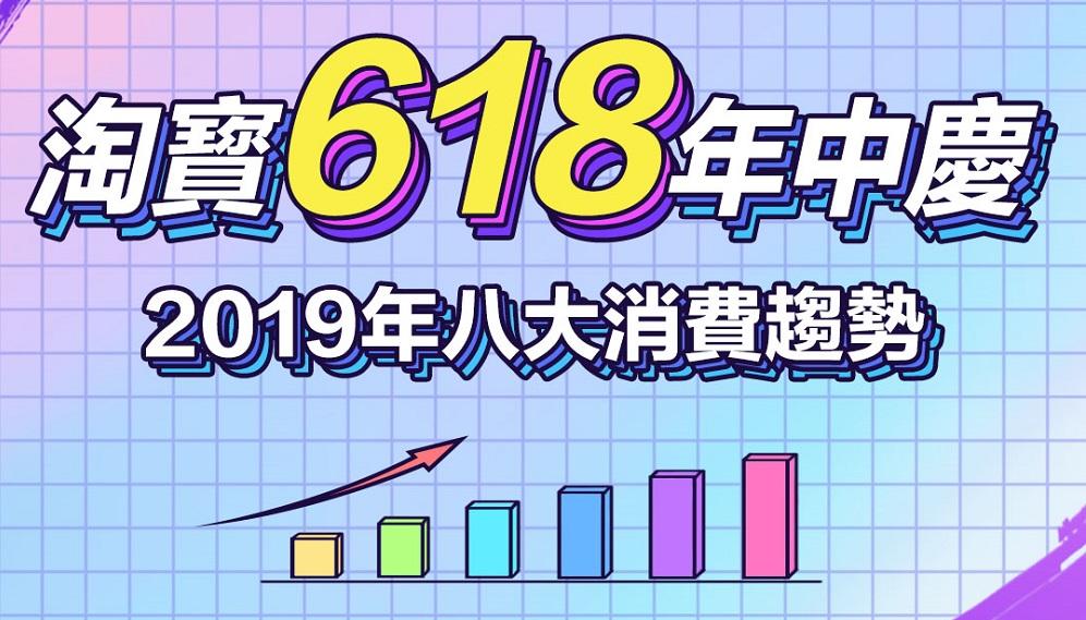 淘寶618年中慶 2019年八大消費趨勢