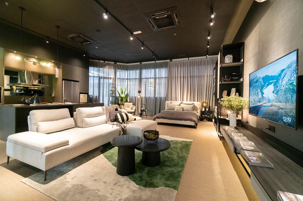 涵客家居的家具設計優質,參與是次由極有家與Atap.co打造的Taobao Home線下體驗店,可以直接向大馬的消費者展示出該品牌的產品特質。