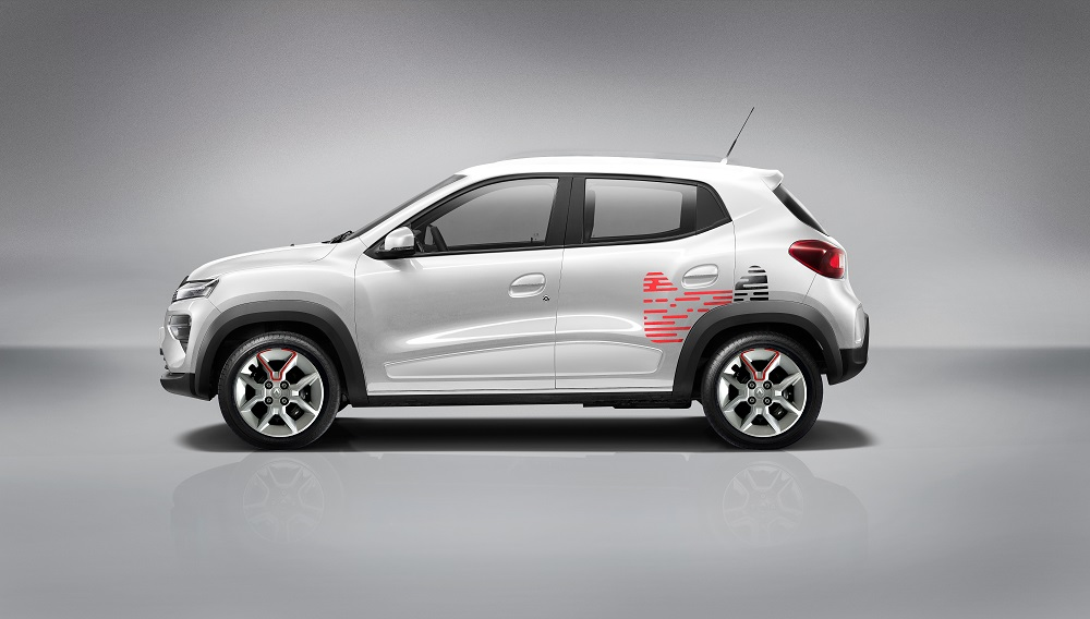 天貓定製版Renault City K-ZE汽車。