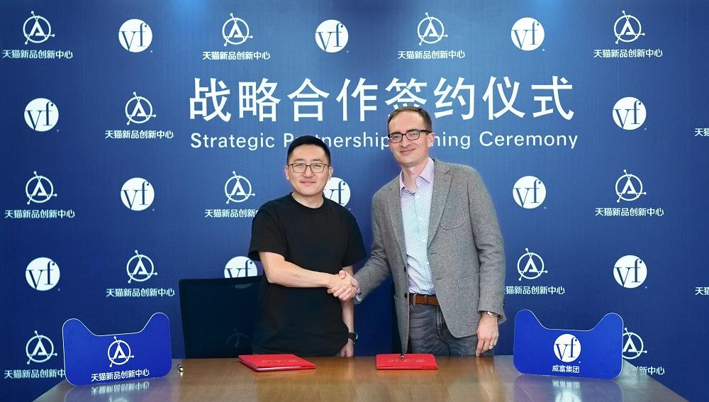 天貓與威富公司(VF Corporation)簽署戰略合作協議,進一步加強和深化了雙方已存在的良好合作關係。