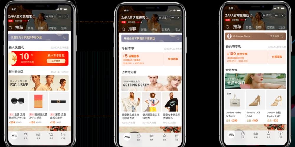 天貓「旗艦店2.0升級計劃」為品牌打通線上線下會員禮遇,提升了品牌管理及服務會員和粉絲的效率。