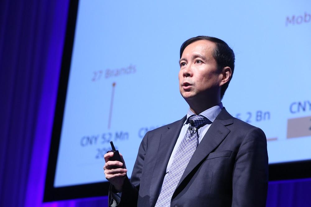 阿里巴巴集團首席執行官張勇出席該集團在東京舉行的日本品牌新零售大會,分享了阿里巴巴經濟體的最新發展。