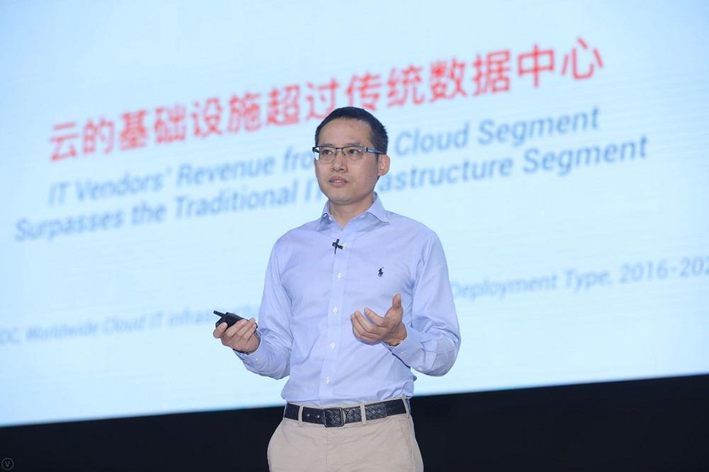 阿里巴巴集團首席技術官、阿里雲智能總裁張建鋒認為,今年是傳統資訊科技業全面向雲計算轉移的分水嶺。
