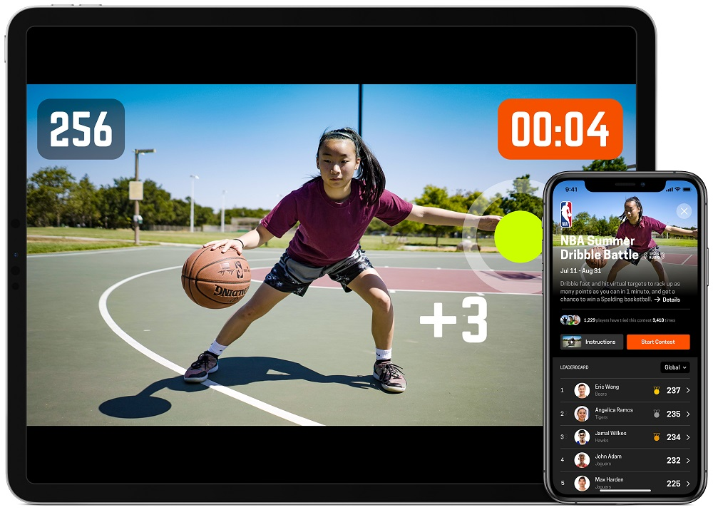 由NEX Team開發的籃球訓練應用程式HomeCourt,將借助NBA平台推廣至全球。