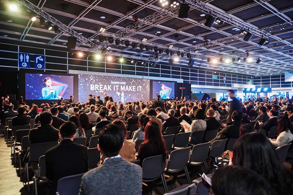 今年較早前舉行的第二屆JUMPSTARTER活動吸引了超過10,000名與會者,並接到來自全球35個國家和地區的600份商業計劃書。
