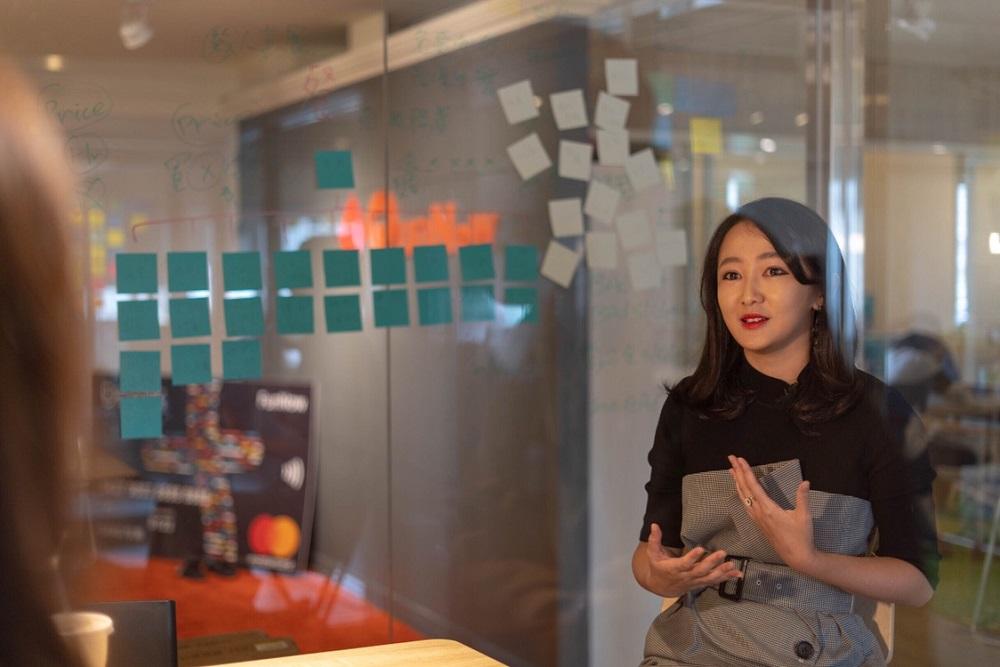 FunNow聯合創辦人張家甄體會到,自己要做到的是工作生活融合(work-life integration),嘗試將工作視為生活的一部分,因為這是她的熱情所在。(受訪者提供相片)