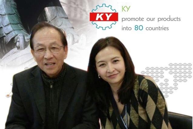 鄭晶華特別感謝身兼廣野精機董事長的父親鄭正雄,在電商市場的發展上給予很大的空間。(受訪者提供相片)