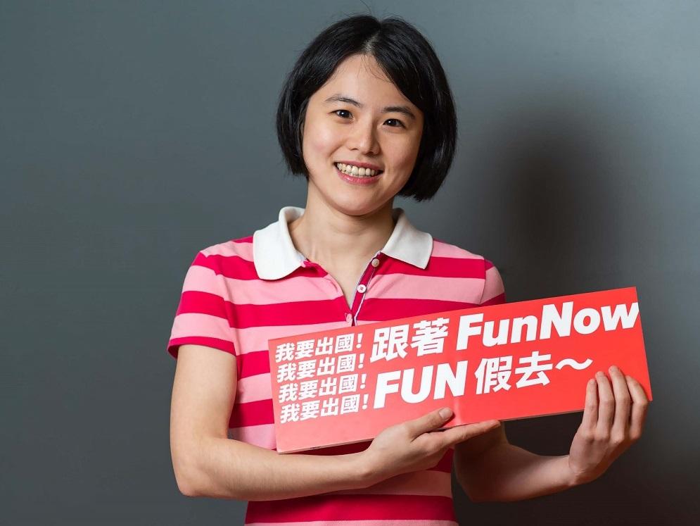 FunNow聯合創辦人孫佩儀希望,能夠將荷蘭的企業文化帶回台灣。(受訪者提供相片)