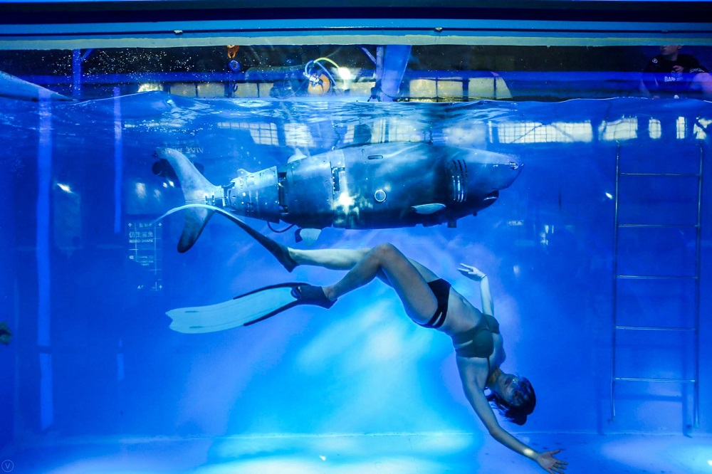 博雅工道:有「水下大疆」之稱的博雅工道已登陸淘寶平台,今次在造物節現場將會展示水底航行器體驗及仿生鯊魚試駕,其中,仿生鯊魚將計劃用作海洋科學考察及海底管道檢測等工作。