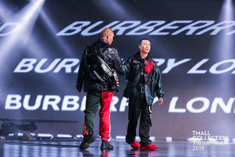 國際品牌BURBERRY也現身開幕盛典。