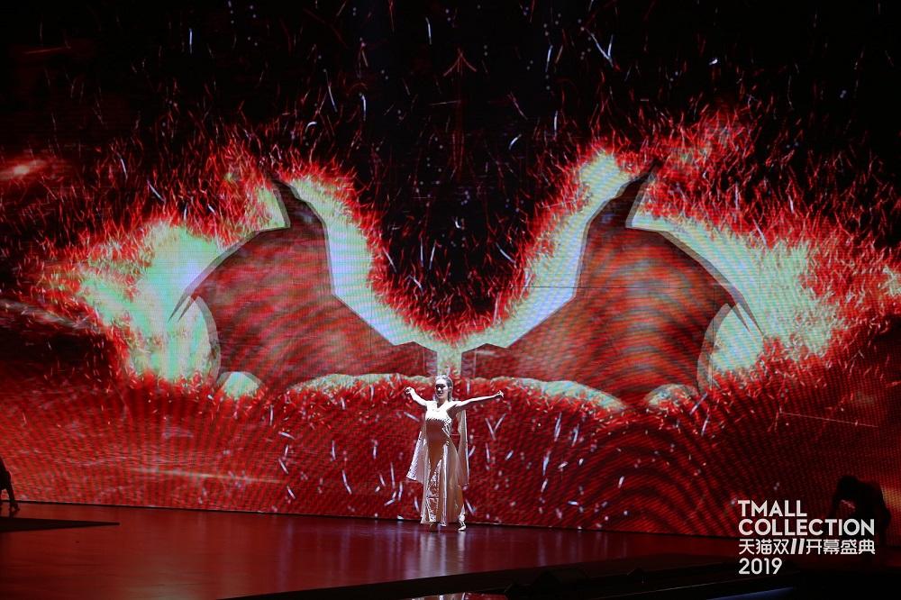 全場觀眾被「冰與火之歌」主題的表演環節所震撼。