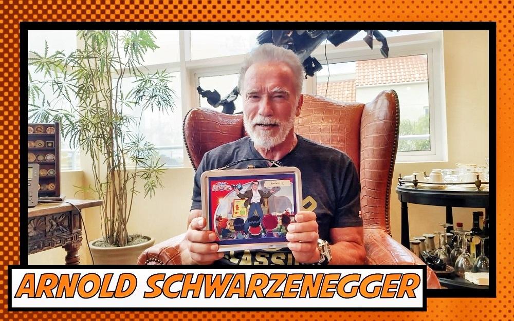 優酷少兒與兒童媒體集團Genius Brands聯合出品動畫《斯坦‧李的超級英雄幼稚園Stan Lee's Superhero Kindergarten》,圖為阿諾.施瓦辛格(Arnold Schwarzenegger)。