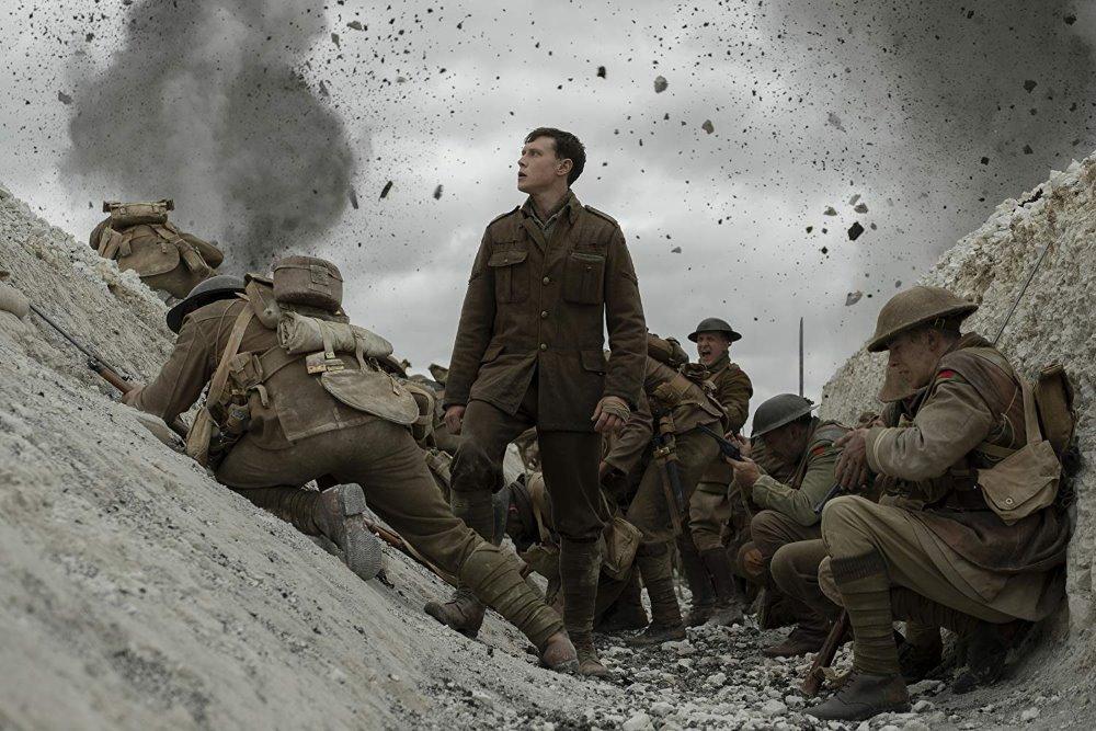 由阿里影業聯合出品的電影《1917:逆戰救兵》勇獲第92屆奧斯卡最佳攝影、最佳視覺效果及最佳音響效果三項大獎。(圖片摘自官方劇照)
