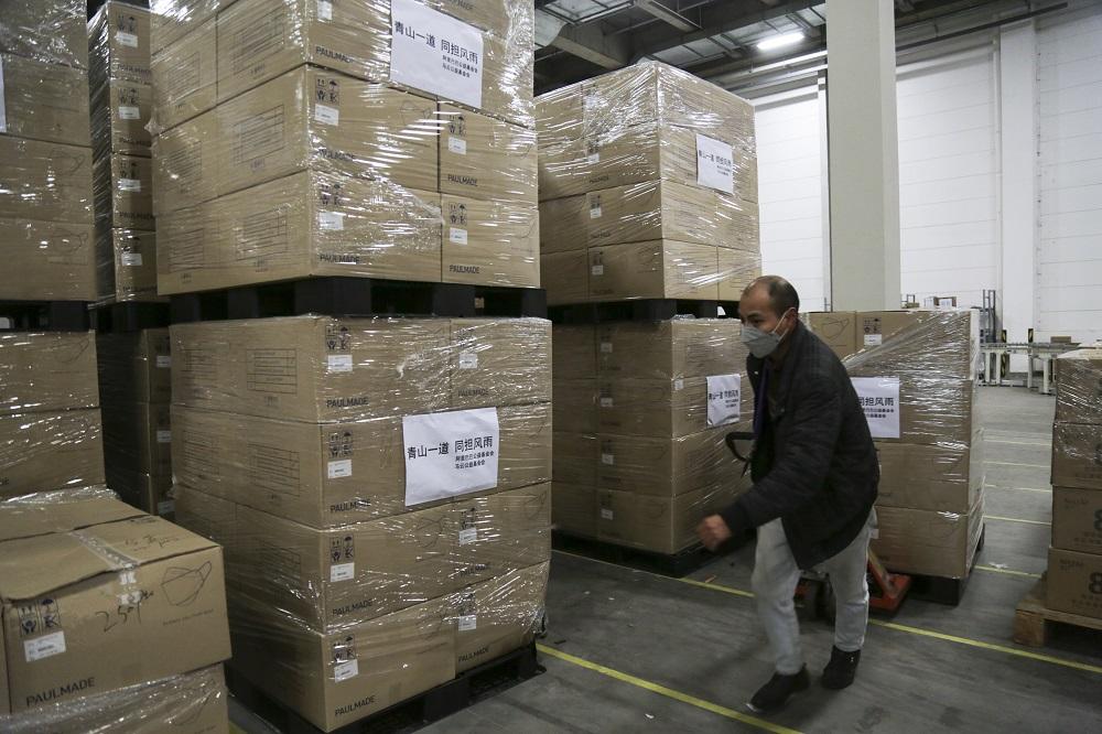 馬雲公益基金會和阿里巴巴公益基金會宣佈向日本捐贈100萬個口罩,支援日本的防疫工作。