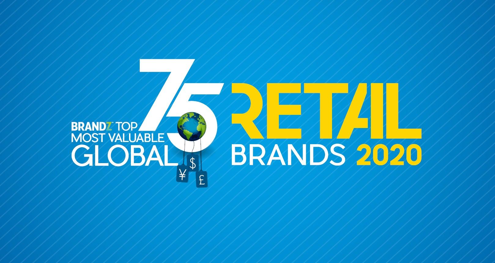 《2020年BrandZ全球最有價值零售品牌75強》衡量純零售、快餐、服飾及奢侈品四個版塊中,企業所擁有的財務價值及品牌貢獻,從而選出最具代表性的75家全球企業。