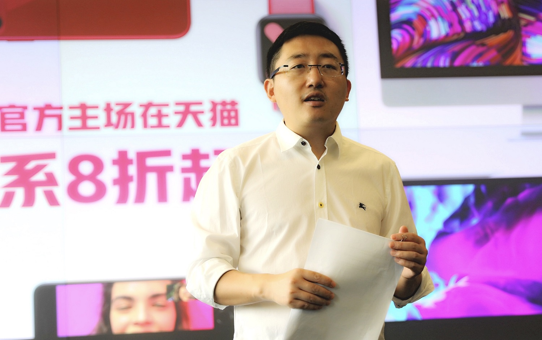 阿里巴巴集團副總裁、天貓618總指揮劉博。