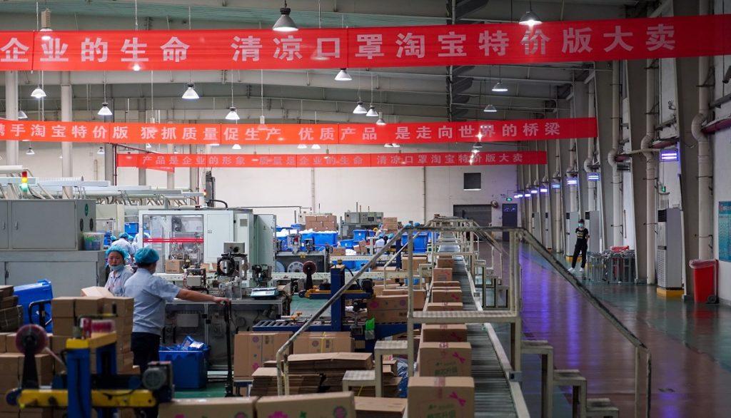位於河南省許昌的舒萊在淘寶C2M模式幫助下,改善生產線及發佈該公司首款適合夏天使用、已經通過第三方檢測的清涼口罩。