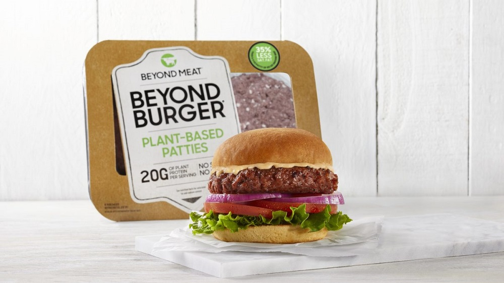 Beyond Meat的植物肉製品以植物原料製作,模仿肉類的口感、味道或外觀。公司表示將會逐步擴展中國市場的業務,預計9月會在北京及杭州部分盒馬鮮生門店出售旗下產品。