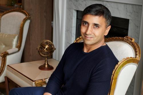 薇塔貝爾CEO Tej Lalvani