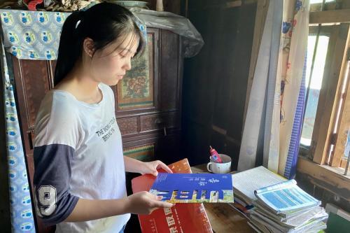 北京對外經濟貿易大學學生羅玉萍